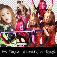 PNG Taeyeon [6 renders] by ~lagsiga by lagsiga