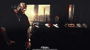 Rick Ross Wallpaper work by ghettolife