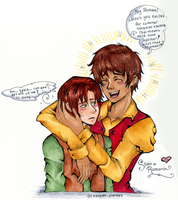 Spain and Romano by Kyogurt-Star459