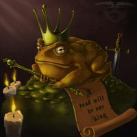 King Toad by Art-by-Edum