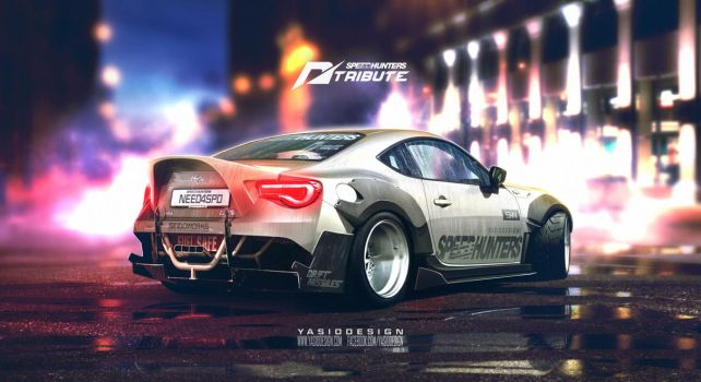 Speedhunters Toyota GT 86 _ Need for speed tribute by yasiddesign