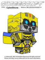 Cubeecraft- Bumblebee 1 'LAM' by CyberDrone
