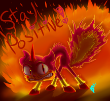 Stay Positive! by Weevmo