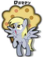 Derpy T-Shirt Design by iamthemanwithglasses