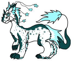 NeverFrost -Feral form by Adolas