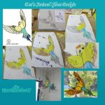 Stained Glass Budgie Collaboration by Thagirion