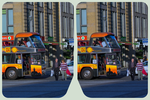 Double-Decker Bus 3D ::: HDR Cross-Eye Stereoscopy by zour