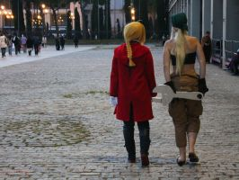 Edward and Winry cosplay 2 by Hoshimusic