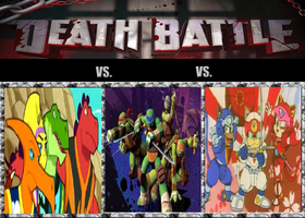 Death Battle Kung fu vs Ninja vs Samurai by JakeCrusher4