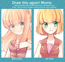 Before and After (2014 - 2015) by azumibird