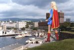 Danish Supergirl dominates Norway by apollocreed23