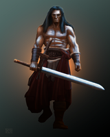 Conan WIP by dloliver