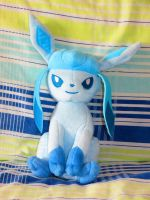 2014 Tomy Glaceon plush by ryanthescooterguy