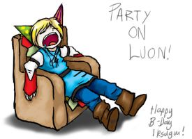 Happy B-Day lksugui by BlackMage339