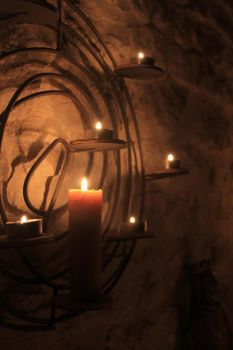 Light the candle, and watch it burn by VanVeia