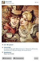 Selfie Fables | Alice in Wonderland by SimonaBonafiniDA
