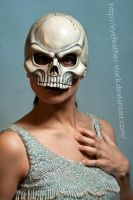 skull glamour hand by eyefeather-stock