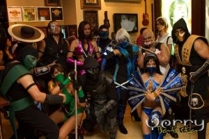 Dominican Mortal Kombat Crew by Prudyfortuna