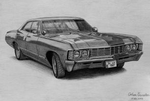 1967 Chevrolet Impala by orhano