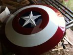 Captain America Cosplay Shield by Pako-X