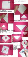 How To Make Paper Snowflakes- Easy by DawnOfTheFeline