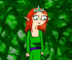 Colimay: Elf Queen. by yeagerspace