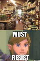 Link and Pottery by EmMonsta
