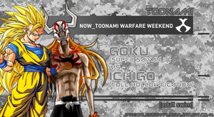 Toonami Warfare: Goku S.S.3. vs Ichigo Full Hollow by JPReckless2444