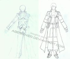 Dante Costume sketches by Abessinier