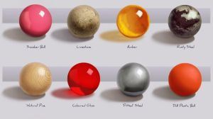 Texture Spheres Practise by Nicksketch