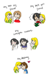 TK - People in my life... by Wendy-Chan