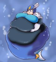 Fat Splash Woman by Eishiban