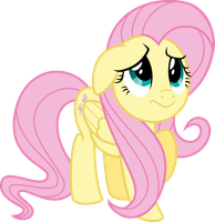 Fluttershy is Sorry by Flizzick