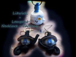 Litwick and Lampent Jewelry by BeckoningHaunter