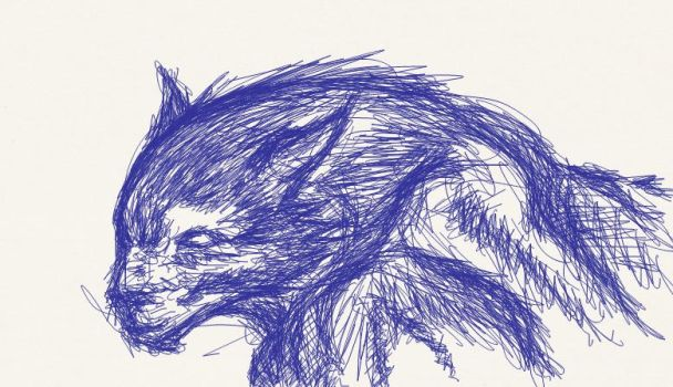 Werewolf with bic by Siakilis
