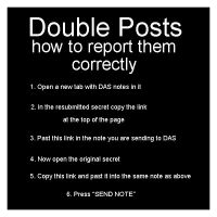 How to report DAS double posts by DeviantArtSecret