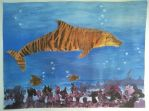 Tiger Dolphin by PreciousAngelWings