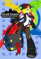 Aira and Tammy World Adventure by QimCheese