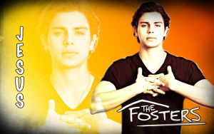 The Fosters Wallpaper - Jesus by CertainlyLostFameGal