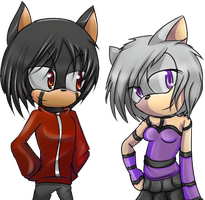CM: Flare and Mari by Mephilez