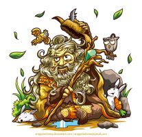 The Hobbit : Radagast by anggatantama