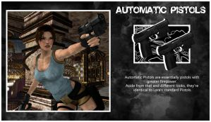 TR2 Concept: Automatic Pistols by ReD8ull