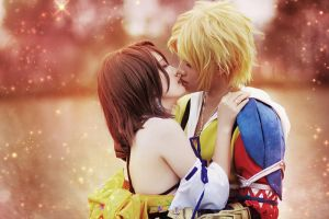 Final Fantasy X - Suteki Da Ne by nyaomeimei