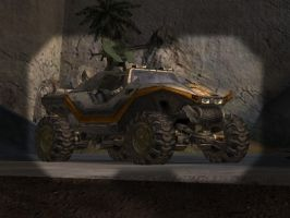 Halo 2 Modded Warthog by Snakesan