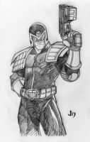 DSC - Judge Dredd by arsenalgearxx