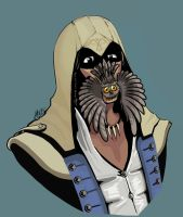 Connor Kenway's pet by Kitao-chan