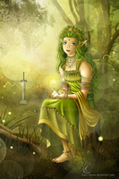 Goddess of courage, Farore by Know-Kname