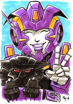 Nautica and Ravage by Mournsong