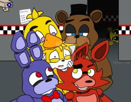 Five Nights With Tails -ASK/DARE CLOSED- by menta-RR-66