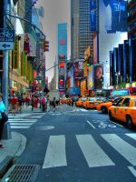 Times Square by JWalkerimages